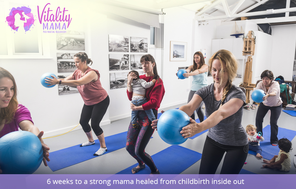 6 weeks to a strong mama healed from childbirth inside out